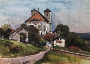 Wallfahrtskirche Marienberg bei Burghausen ⋅ 1939 Image