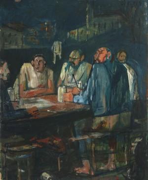 Nächtlicher Stammtisch ⋅ um 1955 Image