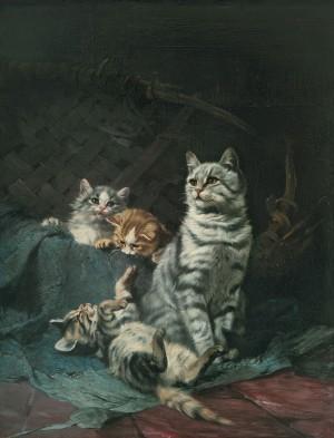 Katzenfamilie Image