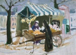 Viktualienmarkt I, München ⋅ 1953 Image