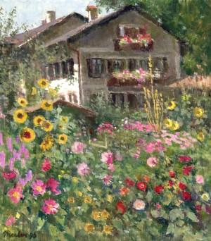 Pertl-Garten auf der Fraueninsel ⋅ 1996 Image