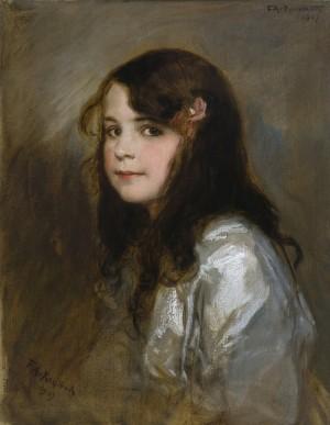 Bildnis der Tochter Hedda ⋅ 1907 Image