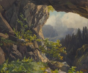 Die Grafenhöhle bei Oberaudorf ⋅ um 1850 Image