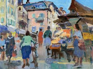 Marktszene ⋅ um 1940 Image