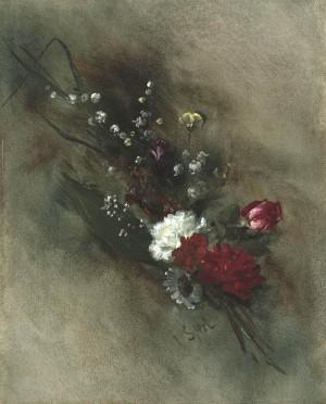 Blumensträußchen ⋅ um 1890 Image