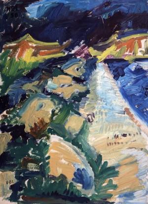 Einsamer Strand ⋅ 1950 Image