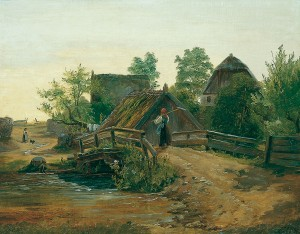 Auf dem Weg ins Dorf ⋅ um 1837 Image
