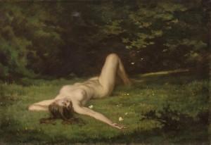 Träumerei ⋅ um 1900 Image