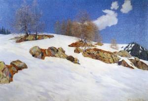 Märzsonne (Davos) ⋅ 1913 Image