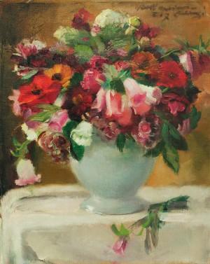 Festlicher Blumenstrauß ⋅ 1917 Image