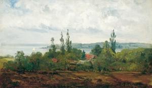Bei Herrsching am Ammersee ⋅ um 1850 Image